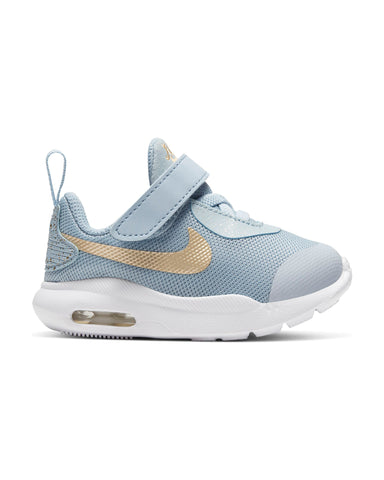 NIKE-Air Max Oketo Valentine Sneaker (Infant) - Blue Gold-VIM.COM