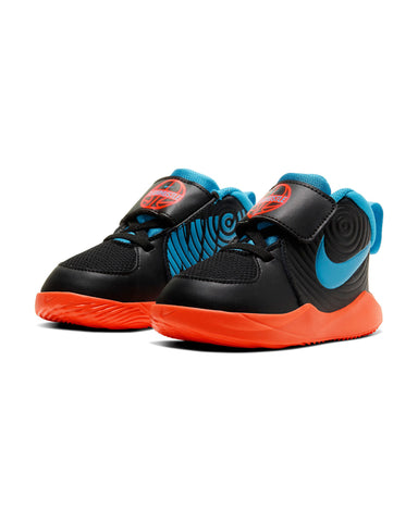 NIKE-Team Hustle D 9 (Infant) - Black Blue-VIM.COM