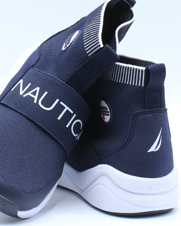 Silas Sneaker (Toddler) - Navy