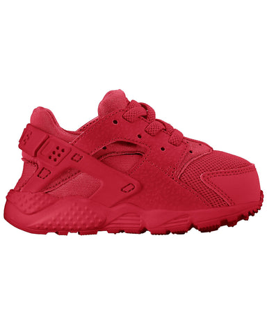 Huarache Run Sneaker (Infant) - Red