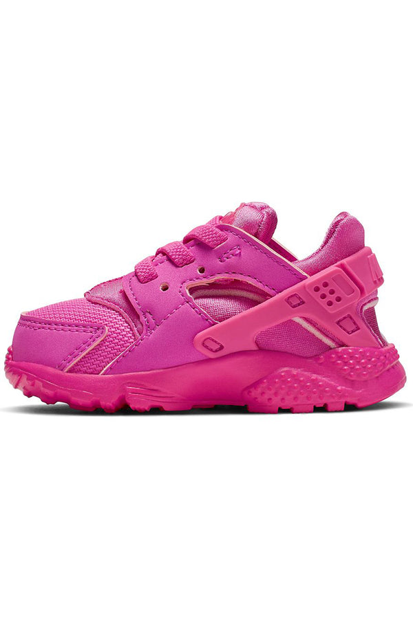 Kid's Huarache Run Shoe (Toddler)- Fuchsia Pink