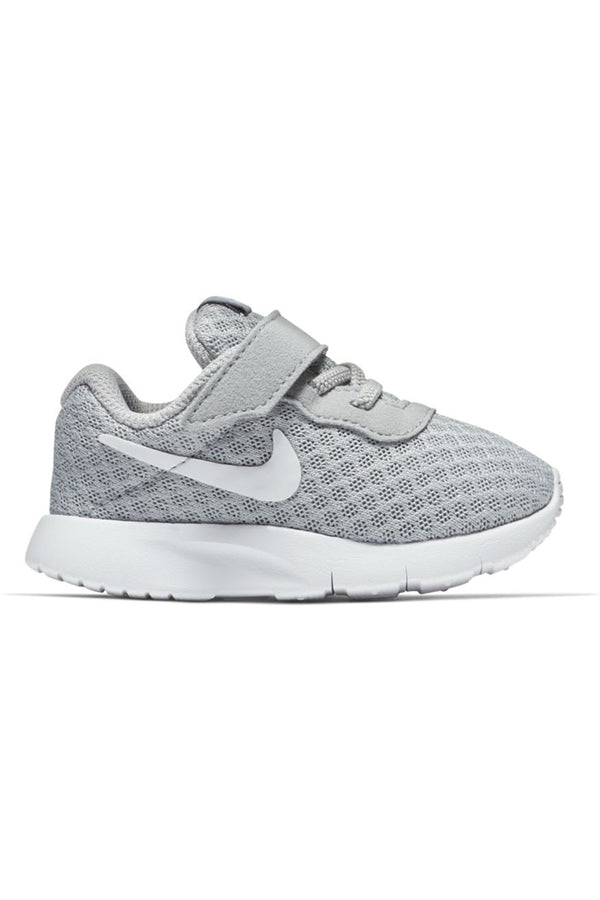 NIKE-Kid's Black Tanjun Shoe (Toddler) - Grey White-VIM.COM