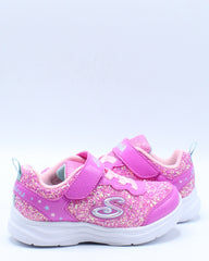 Glimmer Kicks Sneaker (Toddler) - Pink
