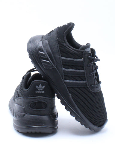 ADIDAS-Kid's La Trainer Lite L1 Sneaker (Toddler) - Black-VIM.COM