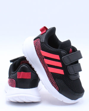 ADIDAS-Kid's Tensaur Run 1 Boot (Toddler) - Black-VIM.COM