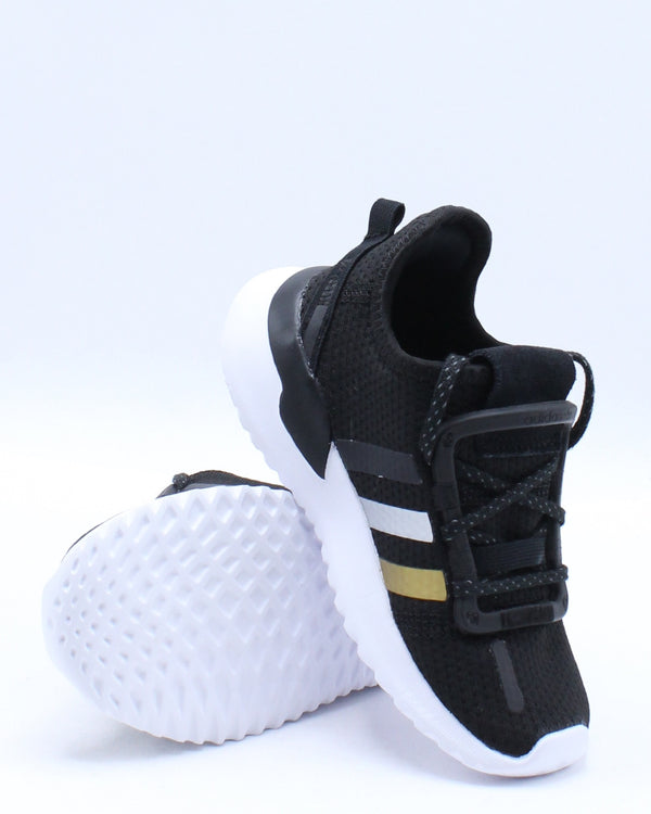 U Path Run I Sneaker (Toddler) - Black Gold
