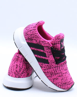 ADIDAS-Swift Run I Sneaker (Toddler) - Pink-VIM.COM