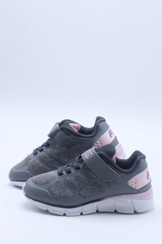 Kid's Super Stride Sneaker (Toddler) - Grey Pink
