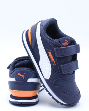 PUMA-Kid's St Runner Vv2 V Inf Boot (Toddler) - Blue Orange-VIM.COM