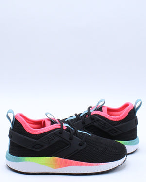 Kid's Pacer Next Excel Rainbow Sneaker (Toddler) - Black Blue