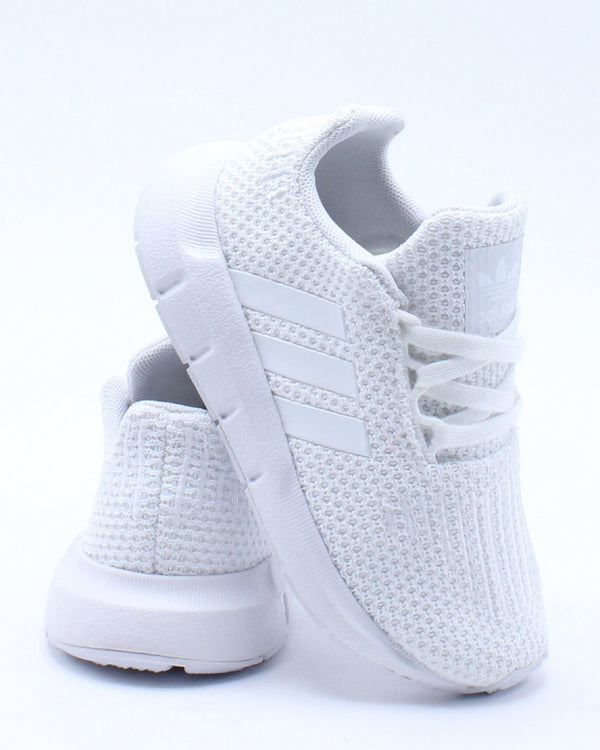 ADIDAS-Kid's Swift Run Sneaker (Toddler) - White-VIM.COM