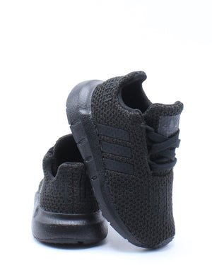 ADIDAS-Kid's Swift Run Sneaker (Toddler) - Black-VIM.COM