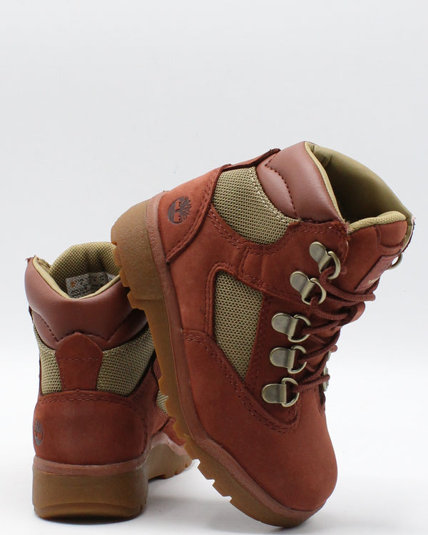 TIMBERLAND-6 Inch Field Boot (Toddler/Pre School) - Rust-VIM.COM
