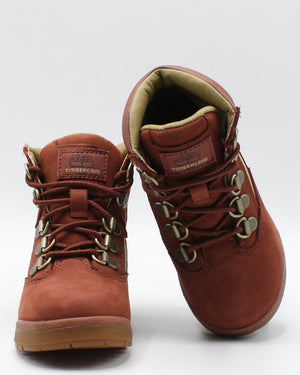 TIMBERLAND 6 Inch Field Boot (Toddler/Pre School) - Rust - Vim.com