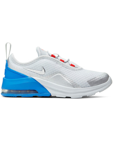 NIKE-Air Max Motion 2 Sneaker (Grade School) - White Silver Blue-VIM.COM