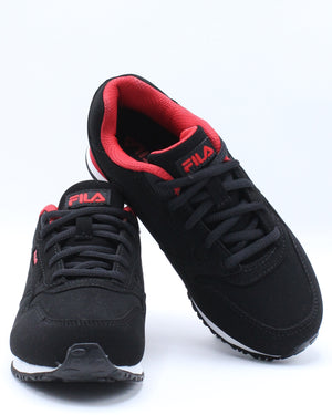 Cress Sneaker (Pre School) - Black Red