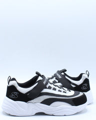 Delights Sneaker (Pre School) - Black White
