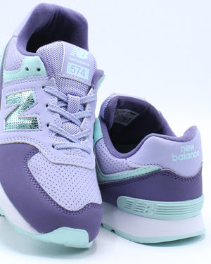 574KWB Low Top Sneaker (Pre School) - Lavender