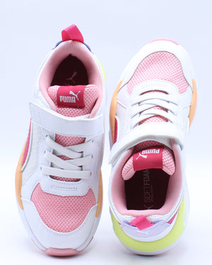 Kid's X Ray Ripstop V Sneaker (Pre School) - White Rose