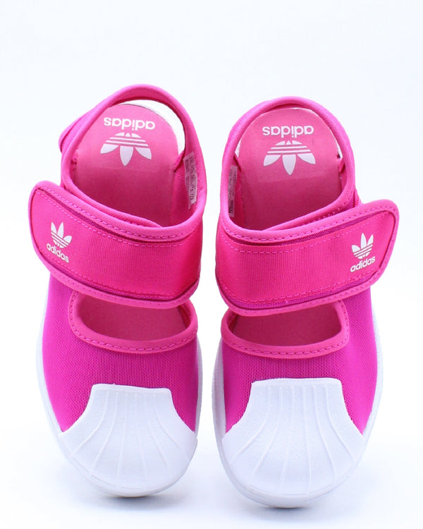 ADIDAS-Kid's Superstar 360 Sandal (Pre School) - Pink White-VIM.COM
