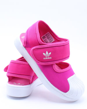 Kid's Superstar 360 Sandal (Pre School) - Pink White