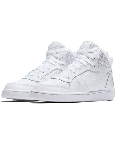 NIKE-Recreation Mid Sneaker (Grade School) - White-VIM.COM