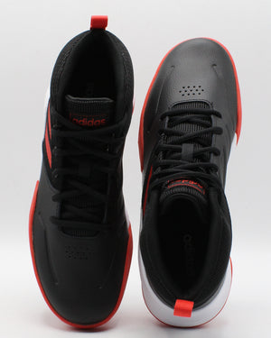 Own The Game Wide Sneaker (Grade School) - Black Red