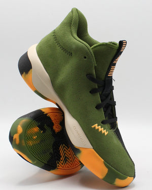 Pro Next Sneaker (Grade School) - Black Green Camo