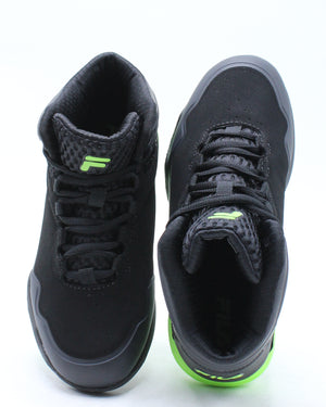 Kid's Torranado 8 Sneaker (Grade School) - Black Green