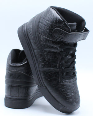 FILA-Vulc 13 Mp Digital Sneaker (Grade School) - Black-VIM.COM