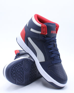 Kid's Rebound LayUp Sl Sneaker (Grade School) - Navy Red