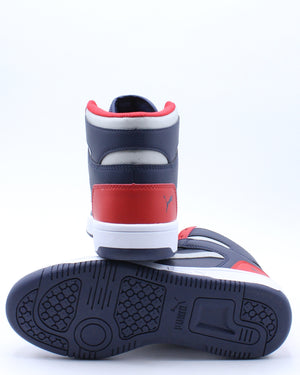 Kid's Rebound LayUp Sl Sneaker (Grade School) - Black Red