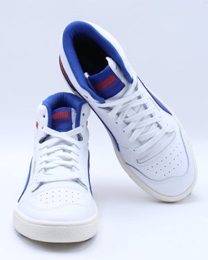 Kid's Ralph Samson Mid Jr Sneaker (Grade School) - White Blue