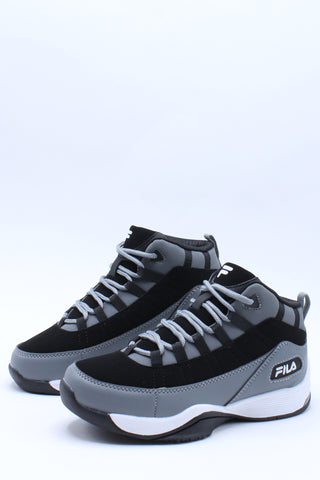 Kid's Seven Five Basketball Shoe (Grade School) - Grey Black