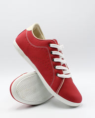 VIM Men'S Lace Up Casual Sneaker - Red - Vim.com