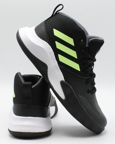 ADIDAS-Adidas Own The Game K Wide Sneakers (Pre School) - Black Onixgen-VIM.COM