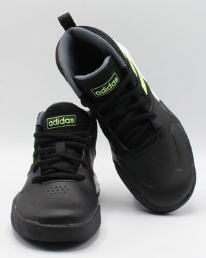 Own The Game K Wide Sneakers (Pre School) - Black Onixgen