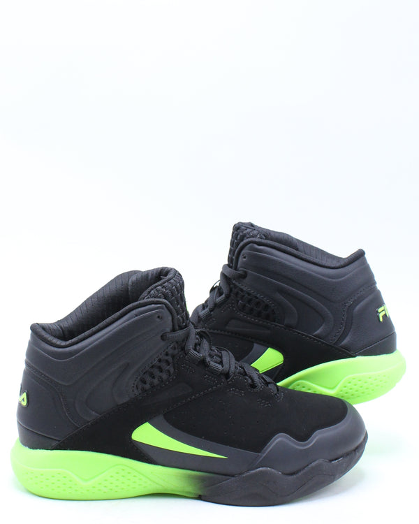 Kid's Torranado 8 Sneaker (Pre School) - Black Green