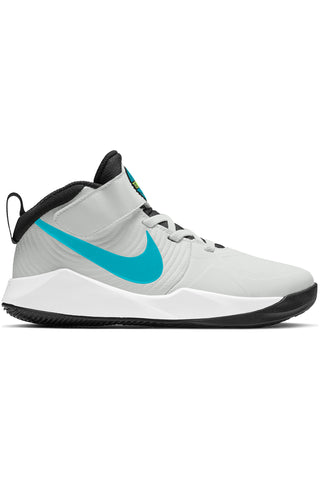 NIKE-Kid's Team Hustle D 9 Shoe (Pre School) - Dust Aqua-VIM.COM