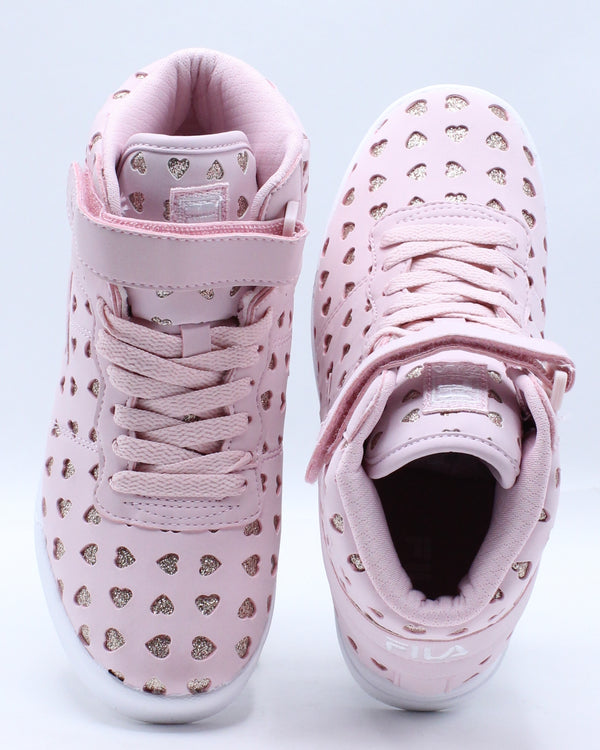 Vulc 13 Big Hearts Sneaker (Pre School) - Pink
