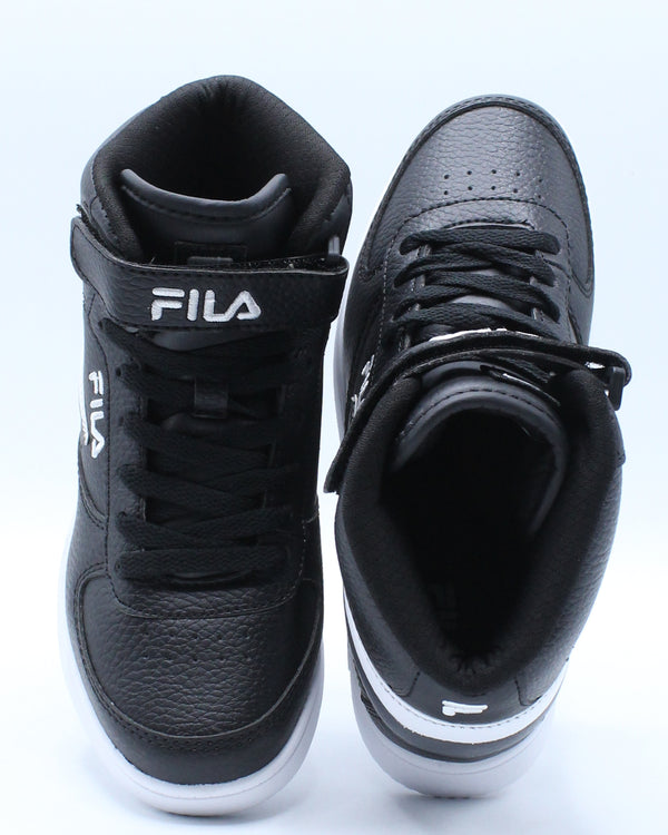 Fila A High Sneaker (Pre School) - Black Grey