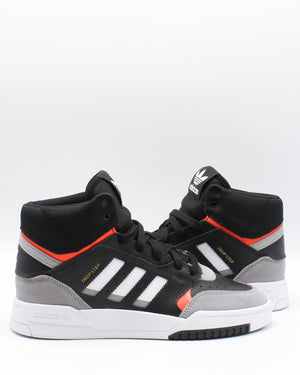 Drop Step Sneaker (Grade School) - Black Red White