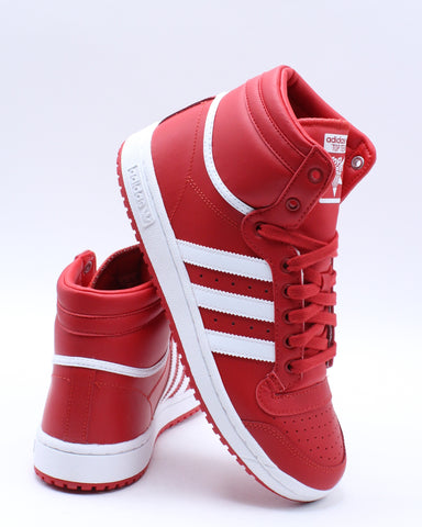 ADIDAS-Top Ten Sneaker (Grade School) - Red White-VIM.COM