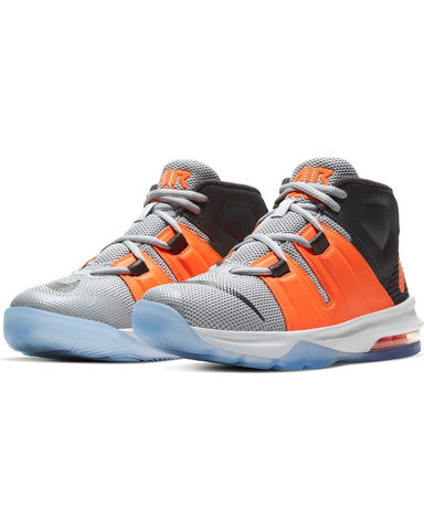 NIKE-Air Max Charge Sneaker (Grade School) - Grey Orange-VIM.COM