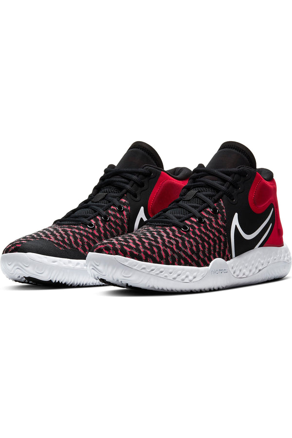 NIKE-Kid's Kd Try 5 Viii Sneaker (Grade School) - Black Red-VIM.COM