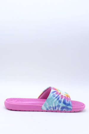 Kid's Cool Cat Tie Dye Bx Jr Sneaker (Grade School) - Pink Multi