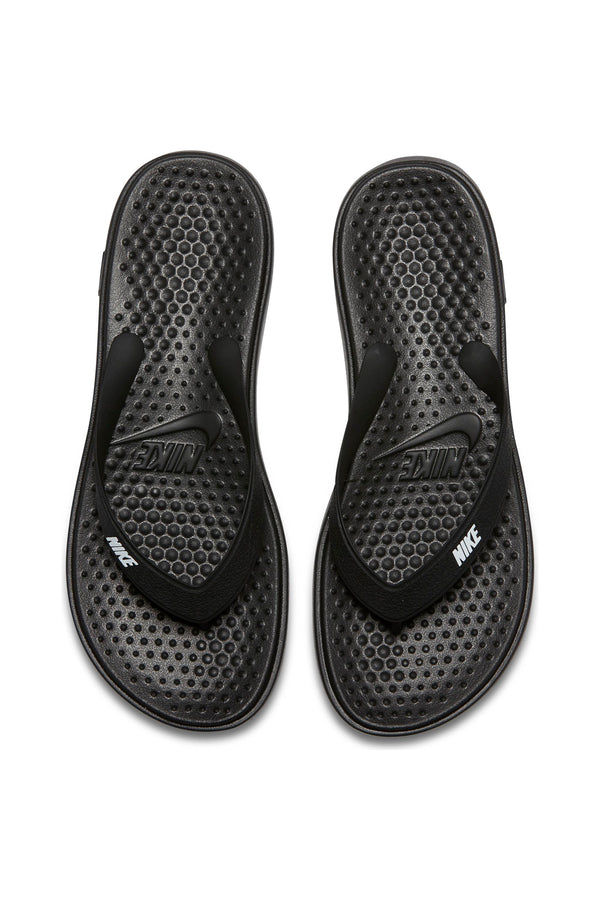NIKE-Kid's Solay Thong Slide (Grade School) - Black-VIM.COM