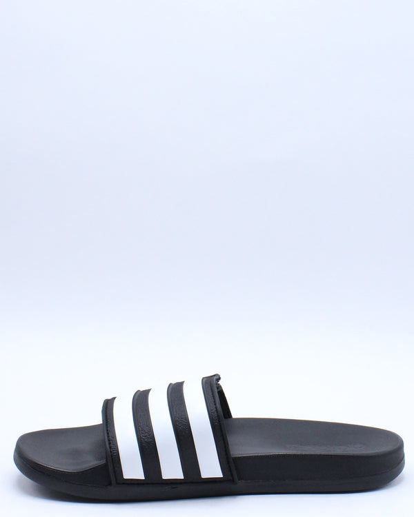Adilette Comfort Slide (Grade School) - Black White
