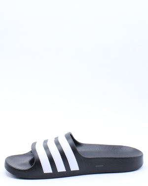 Kid's Adelette Aqua K Slide (Grade School) - Black White