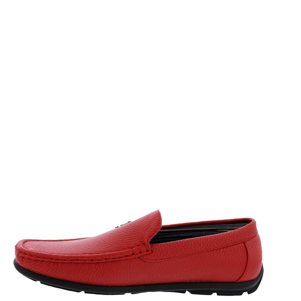 BEVERLY HILLS POLO CLUB Men'S Moc Driving Shoes - Red - Vim.com